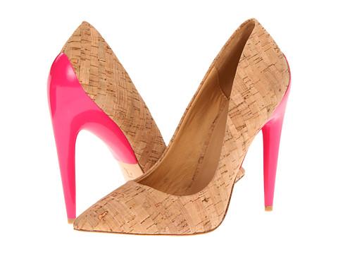 Pantofi L.A.M.B. - Jocelyn - Natural/Pink