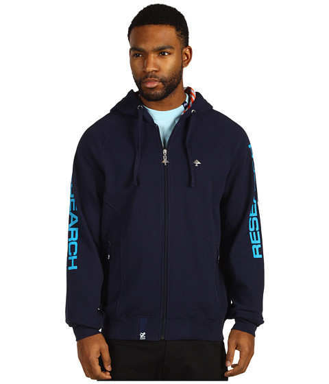 Bluze L-R-G - Research 3047 Zip Hoodie - Navy