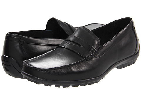 Pantofi Florsheim - Nowles Penny - Black Smooth Leather