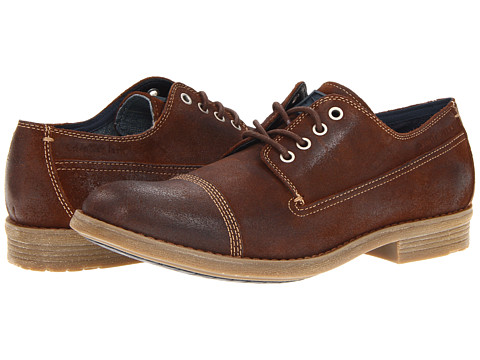 Pantofi Calvin Klein - Vester - Brown Suede
