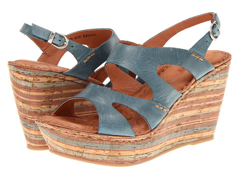 Sandale Born - Bulena - Rey (Blue) Full Grain Leather