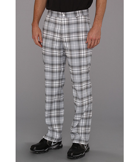 Pantaloni Nike - Nike Golf Tartan Pant - White/Light Armory Blue