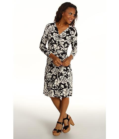 Rochii Tommy Bahama - Camelias Abunch Wrap Dress - Black