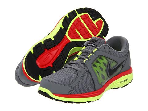 Adidasi Nike - Dual Fusion Run - Cool Grey/Volt/University Red/Black
