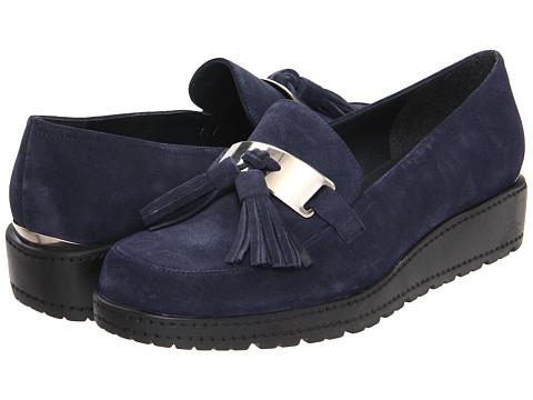Pantofi Stuart Weitzman - Mocmoc - Ocean Velour