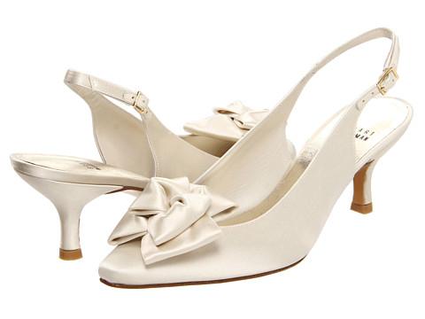 Pantofi Stuart Weitzman - Boalimid - Ivory Satin