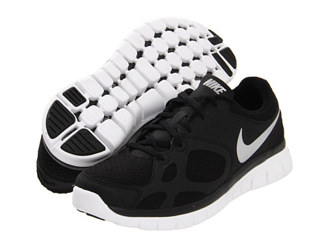 Adidasi Nike - Flex 2012 Run - Black/White/Metallic Silver