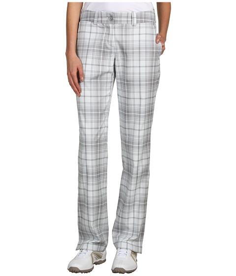 Pantaloni Nike - Modern Rise Nike Tartan Pant - Stadium Grey/Stadium Grey