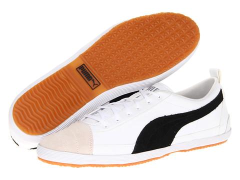 Adidasi PUMA - Serve Pro L/S - White/Black/Vaporous Gray/Lime