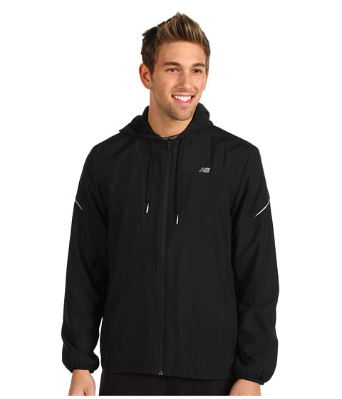 Geci New Balance - Hooded Sequence Jacket - Black/Black