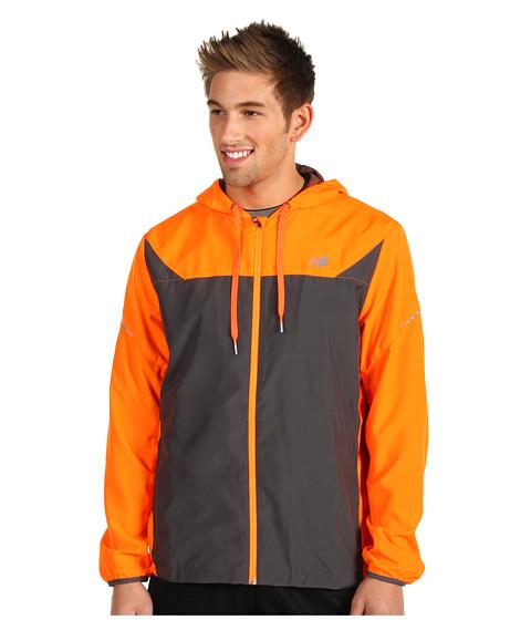 Geci New Balance - Hooded Sequence Jacket - Orange Flash/Magnet