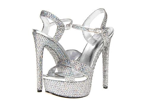 Pantofi Nine West - Mercade - Black Silver/Silver Fabric