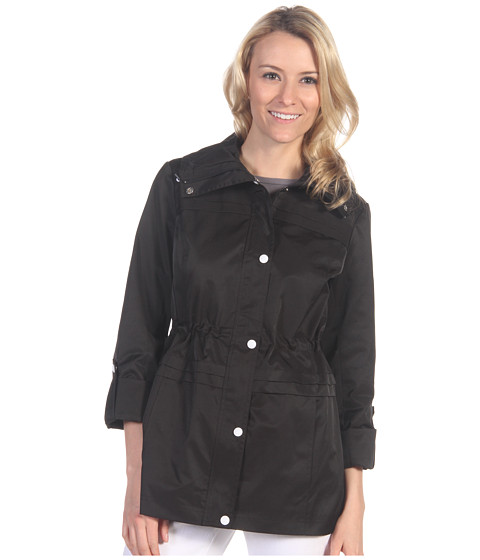 Jachete Jessica Simpson - Anorak w/Roll-Up Sleeve - Black
