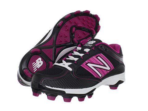 Adidasi New Balance - WF7534 TPU Molded Low-Cut Cleat - Black/In the Pink