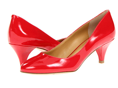 Pantofi Nine West - Sway Me So - Red Synthetic