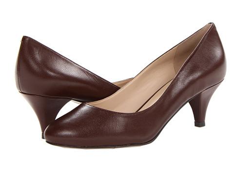 Pantofi Nine West - Sway Me So - Dark Brown Lea LE