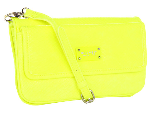 Genti de umar Nine West - Can\\\'t Stop Shopper Crossbody Small - Citron