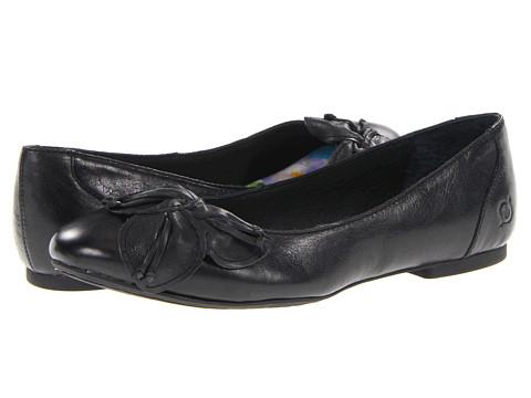 Balerini Born - Forsythia - Black Full Grain Leather