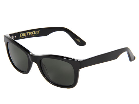 Ochelari Electric Eyewear - Detroit Polarized (Loveless Collection) - Gloss Black/Grey Glass Polarized