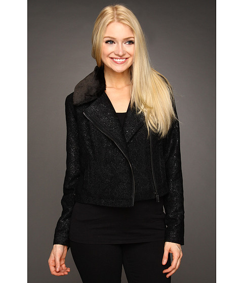 Sacouri Christin Michaels - Kelli Moto Jacket - Onyx