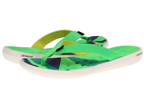 Special Vara adidas - climacool Boat Flip - Earth Green/Craft Canvas/Vivid Yellow