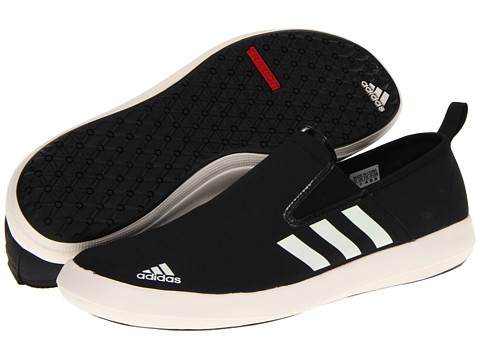 Adidasi adidas - Boat Slip on DLX - Black/Chalk/Tech Grey