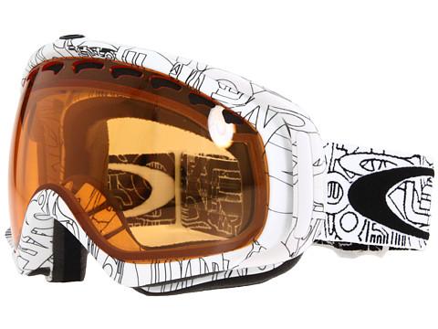 Ochelari Oakley - Crowbar - White With Text/Persimmon Lens