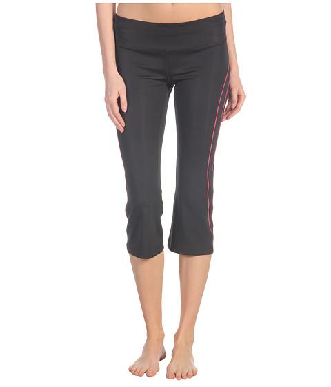 Pantaloni New Balance - Double Stripe Capri - Diva Pink