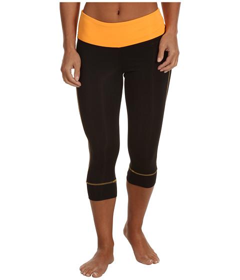 Pantaloni New Balance - Shirred Waist Block Capri - Orange Pop