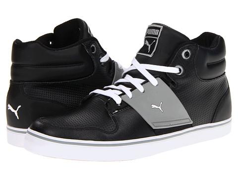 Adidasi PUMA - El Ace 2 Mid Perf - Black/Limestone Gray