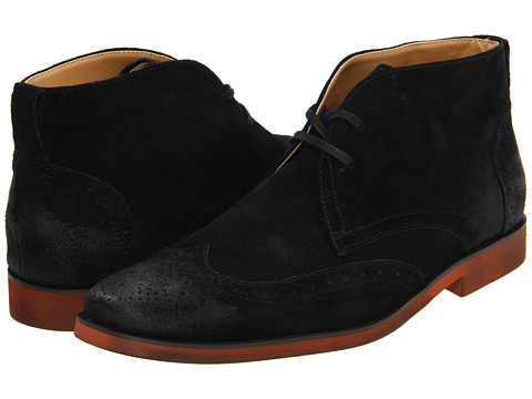 Ghete Stacy Adams - Taliesin - Black Suede