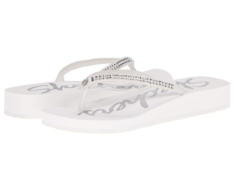 Sandale SKECHERS - Beach Read - White