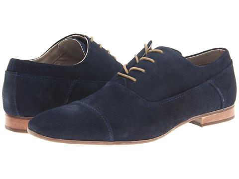 Pantofi Calvin Klein - Irah - Navy Suede