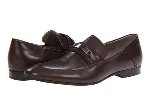 Pantofi Calvin Klein - Iden - Dark Brown Leather