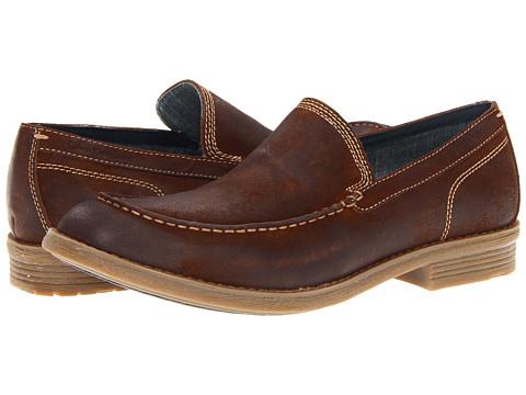 Pantofi Calvin Klein - Val - Brown Suede