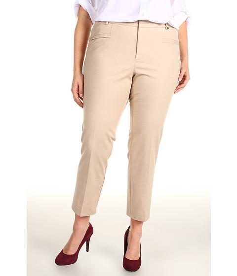 Pantaloni Calvin Klein - Plus Size Slim Pant - Latte