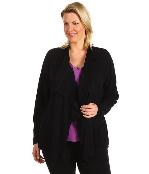 Tricouri Calvin Klein - Plus Size Flyaway Sweater - Black