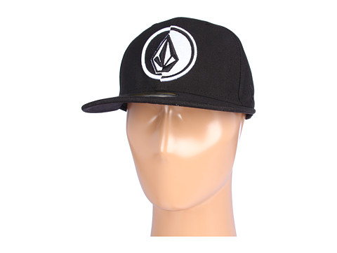 Sepci Volcom - NEâ⢠59Fifty One Eighty Fitted Hat - Tinted Black