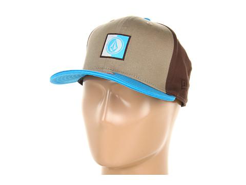 Sepci Volcom - NEâ⢠Embrace Color 9Fifity Snapback Hat - Khaki