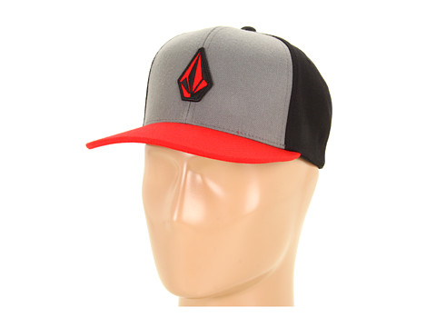 Sepci Volcom - Stone Colour Snap Back - Drip Red