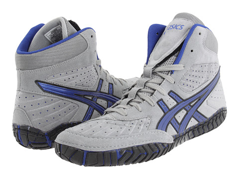 Adidasi ASICS - Aggressorâ⢠- Grey/Royal Blue