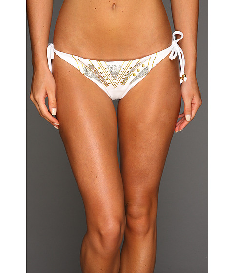 Costume de baie GUESS - Soho Sexy Tie Side Pant - White