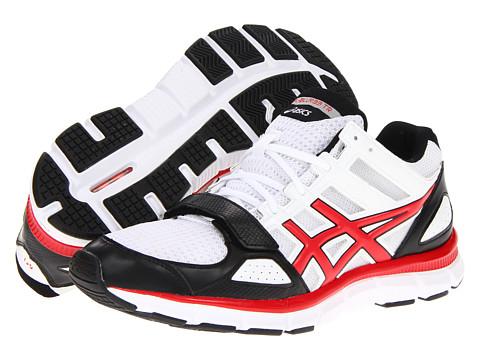 Adidasi ASICS - Gel-Blur33â⢠TR Mid - White/Sport Red/Black