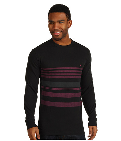 Bluze Volcom - Think L/S Thermal - Black