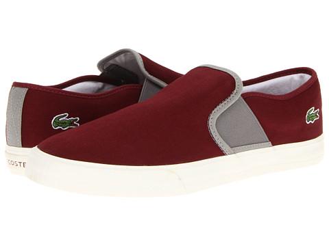 Adidasi Lacoste - Lombardcre - Dark Red/Grey