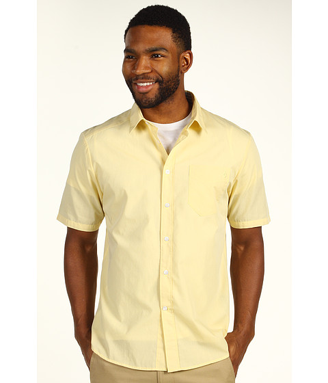 Camasi Volcom - Why Factor End S/S Shirt - Light Yellow