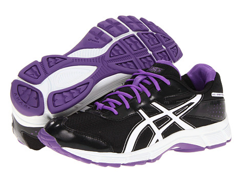 Adidasi ASICS - GEL-Quickwalkî - Black/White/Orchid