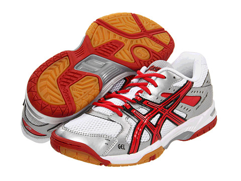 Adidasi ASICS - GEL-Rocketî 6 - White/Red/Silver