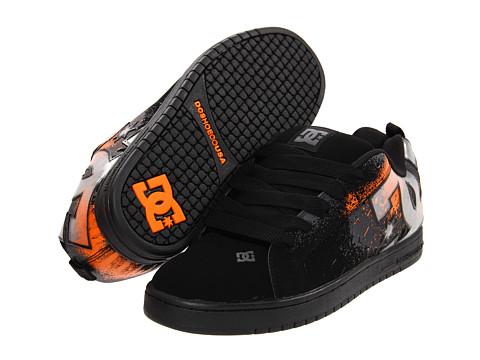 Adidasi DC - Court Graffik SE - Black/Orange