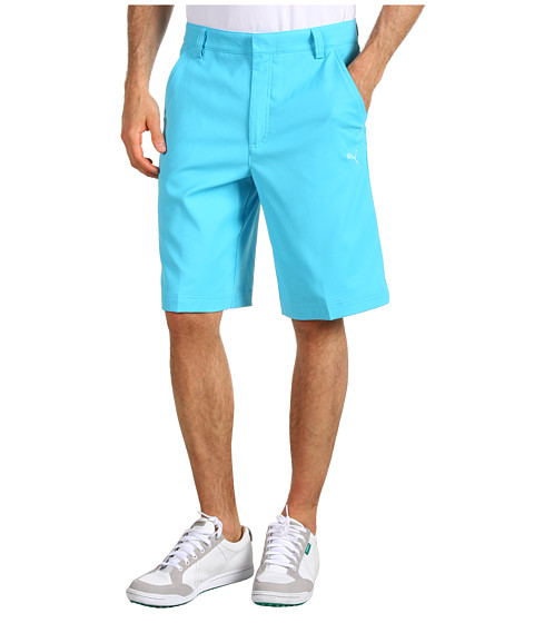 Pantaloni PUMA - Golf Tech Short \13 - Blue Atoll
